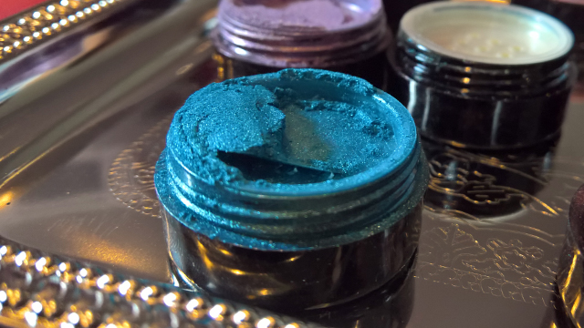 Illusions cosmetics joclare pr janice denise tunnell eye dust caribbean blue
