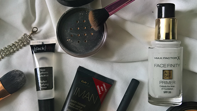Make-up flatlay