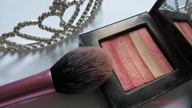 Bobbi Brown shimmer brick nectat Real Techniques blush brush tiara wedding makeup video tutorial