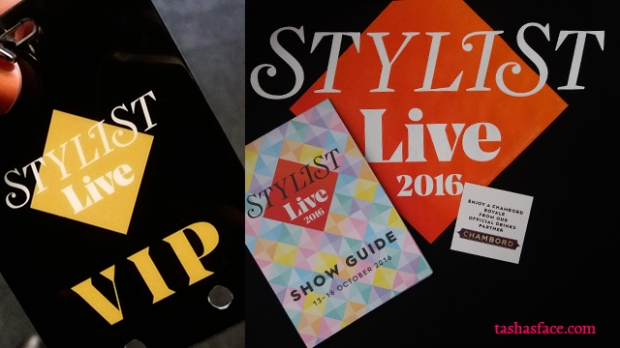 Stylist live 2016 VIP pass standard tote bag guide