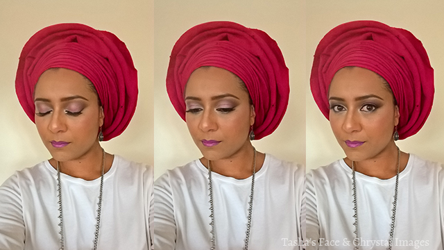 pink gele makeup wedding chrystal images tasha's face selfieGele west african nigeria ghana
