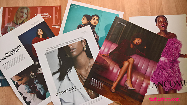 diversity black indian asian models elle magazine