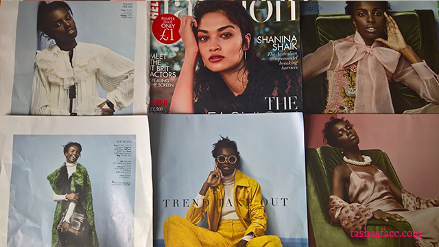 Hello Fashion Monthly magazine, shanina shaik, leomie anderson, diversity, fashion, model, beauty, black skin, brown beauty, darker skin, asian beauty, HFM