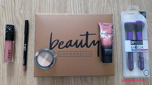 Beauty Cocoon Box First Impressions October 2017