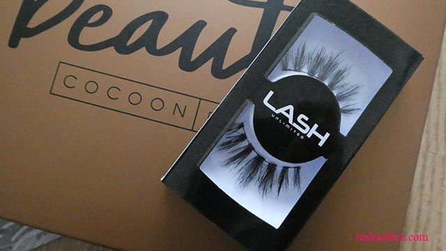 Beauty Cocoon Box December 2017 lash unlimited