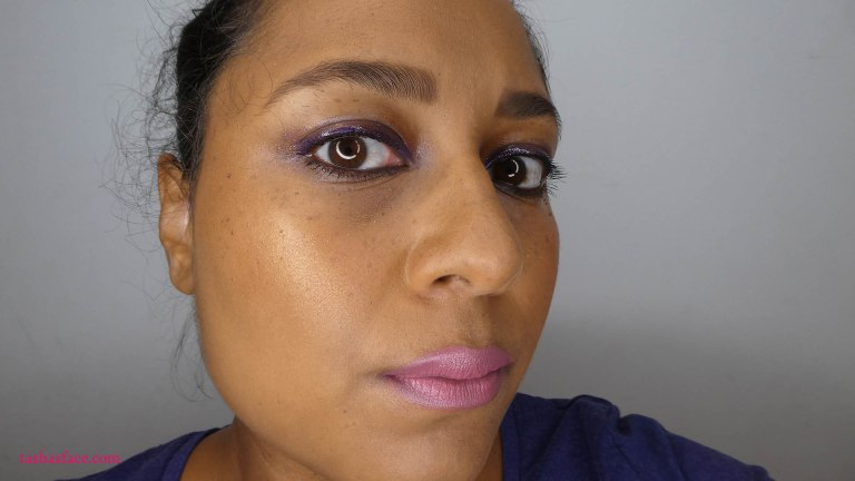 Makeup Playtime: Skin focus with glossy lids and pink lips